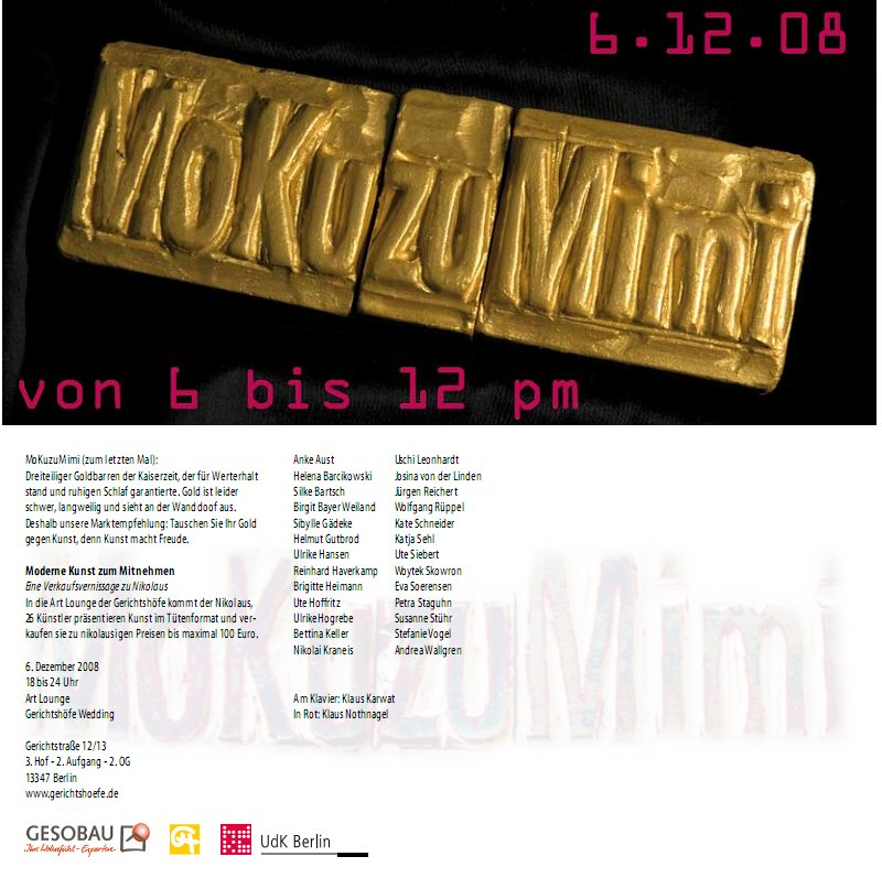 Gold gegen Kunst: MoKuzuMimi