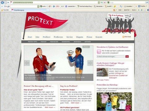 Protextbewegung.de – für mehr Textqualität