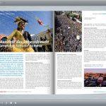 Reisemagazin im Online-Format