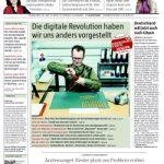 State of the Art: Eine meiner Websites in der Zeitung