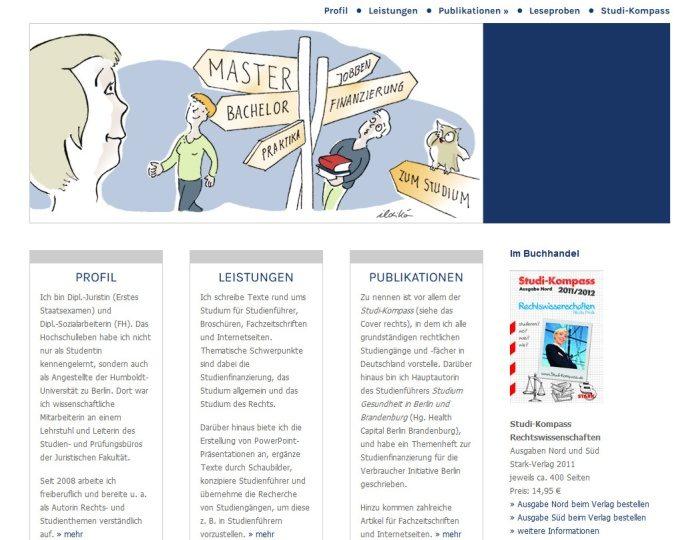 Neue Websites: npridik – Texte für Recht und Ordnung sowie Texte rund ums Studium