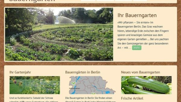 bauerngarten screenshot