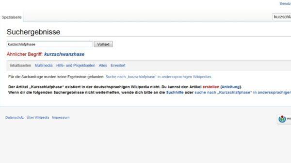 kurzschwanzhase wikipedia screenshot