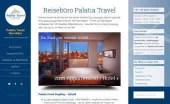 Website Reisebüro