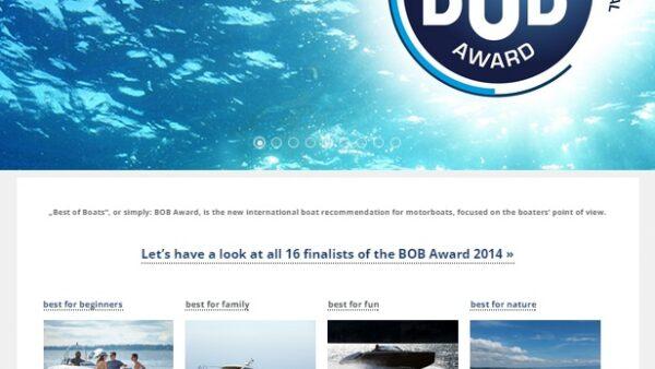 Die besten Boote auf einer Website screenshot