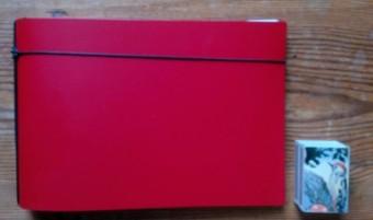 Der x17 Kalender rot