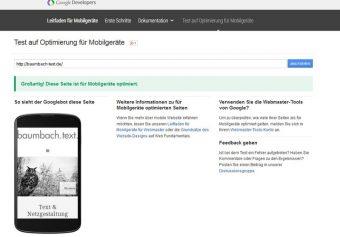 screenshot mobile text google baumbach-text.de