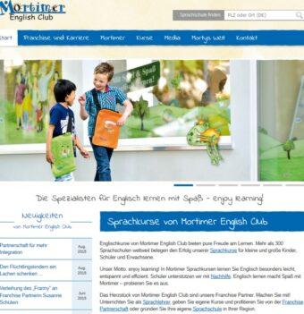 webtexte sprachschule mortimer