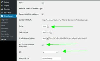 Klick zum Vergrößern - wordpress shariff plugin