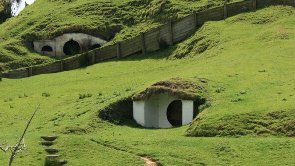 Die Hobbithöhlen in Neuseeland